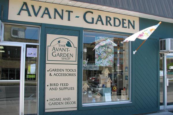 the avant-garden storefront