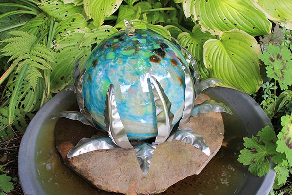 water sculpture
